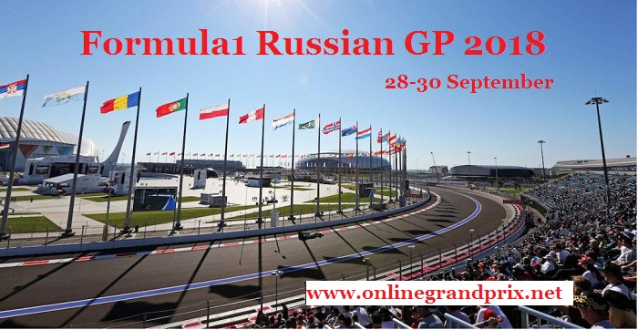 2018 Russian Grand Prix of Formula1 Live Online
