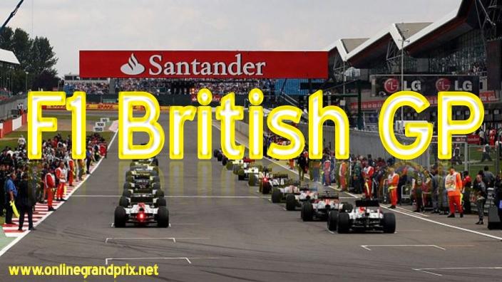 F1 British GP Live Online