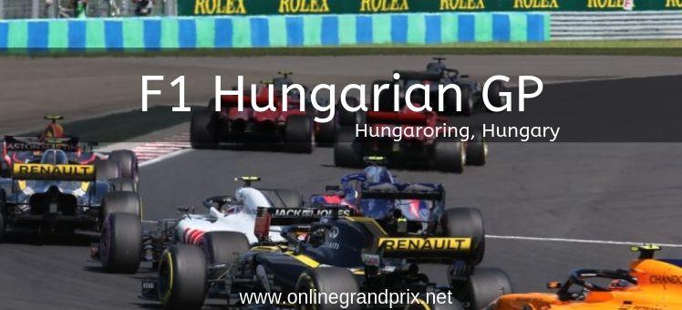 Hungarian GP Live Stream