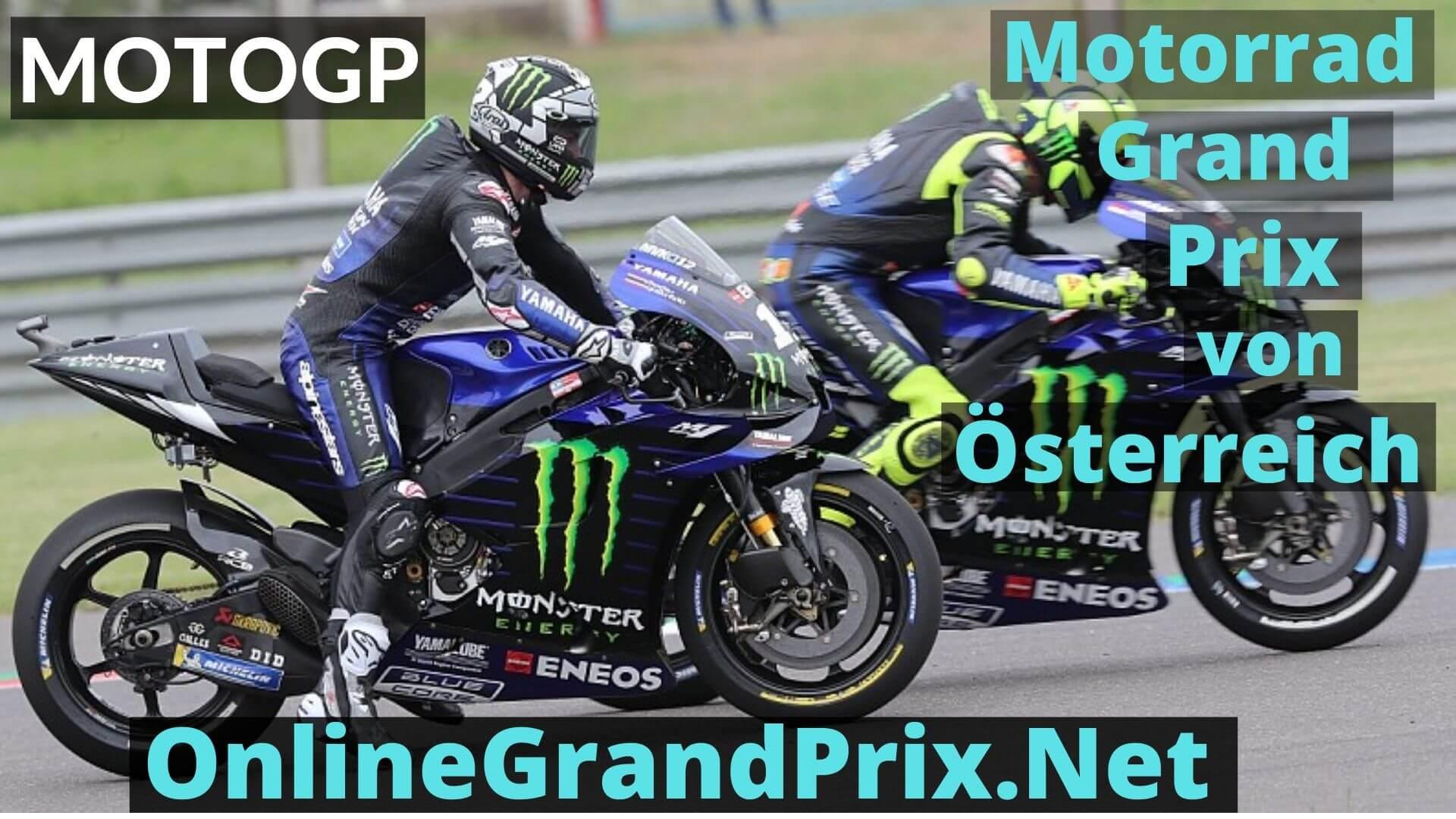 Austrian Grand Prix Live Stream