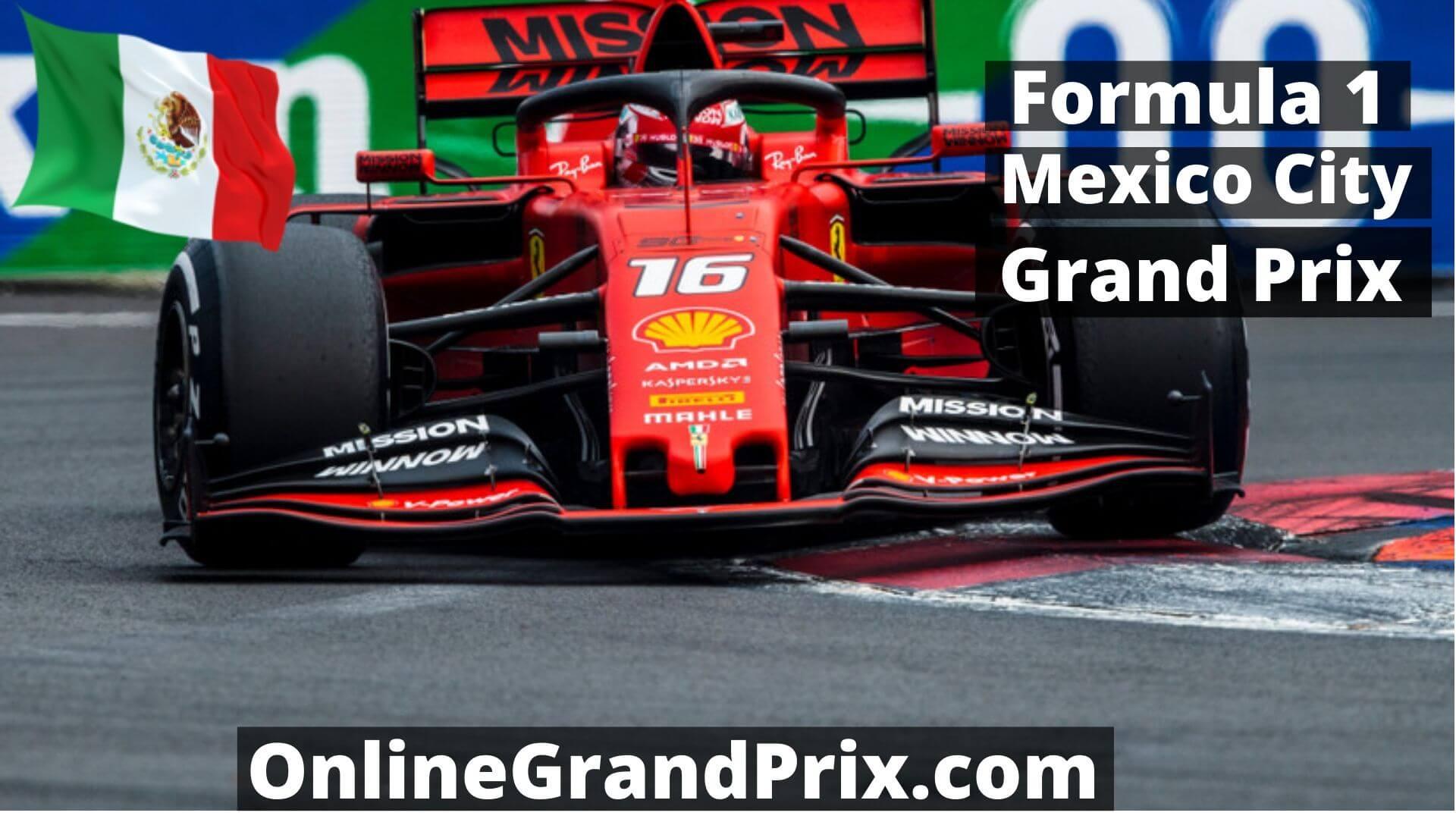 Live F1 Mexico GP Streaming 2015
