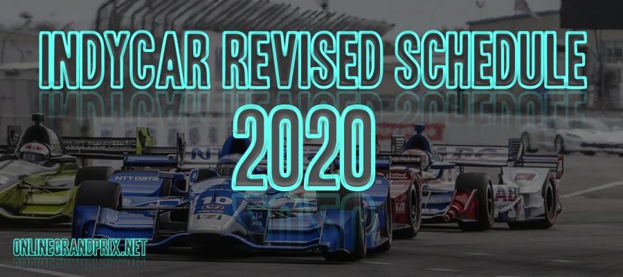 IndyCar GP 2020 Announces Update Schedule