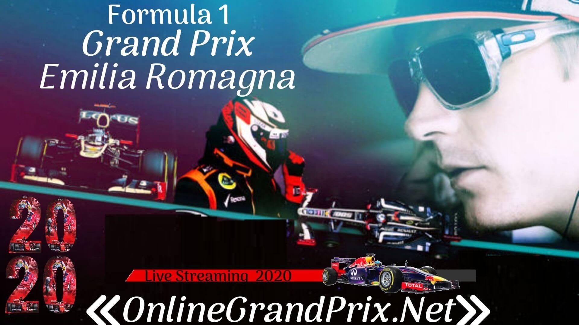 Emilia Romagna GP Live Stream
