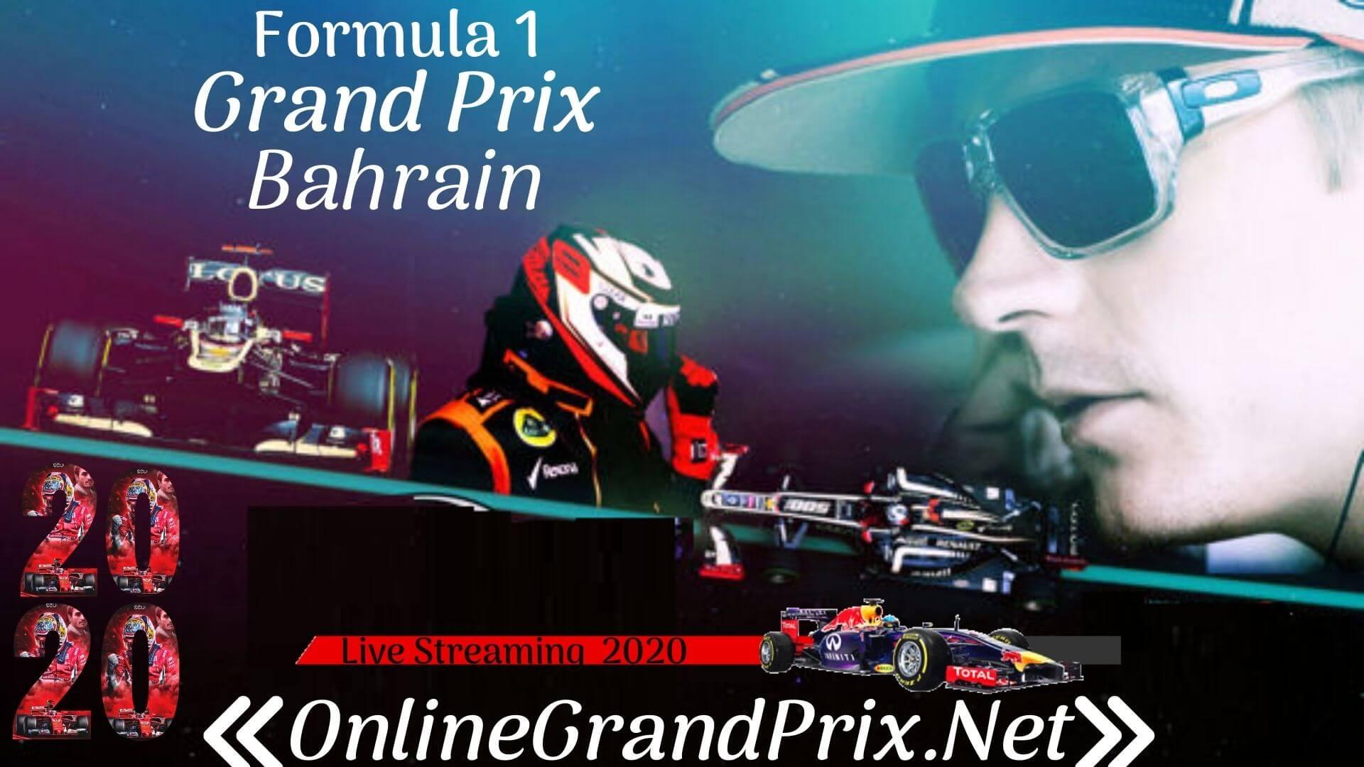 F1 Bahrain Grand Prix Live Stream