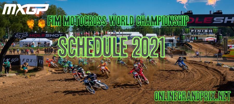MXGP Schedule 2021 Announced