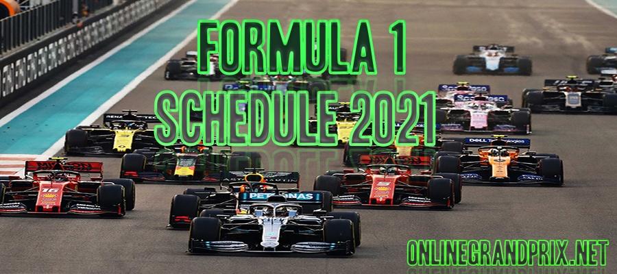 2021 Formula 1 Live Stream Schedule Date Time Replay