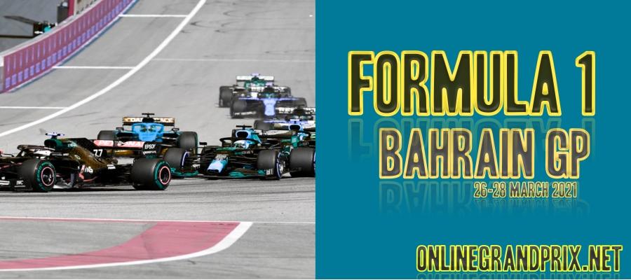 How To Watch F1 Bahrain GP Live Stream