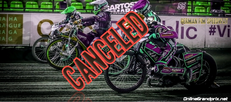 2021 German FIM Speedway GP Canceled Due To The Pandemic