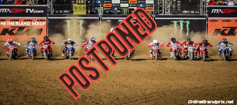 Dutch MXGP 2021 Postponed