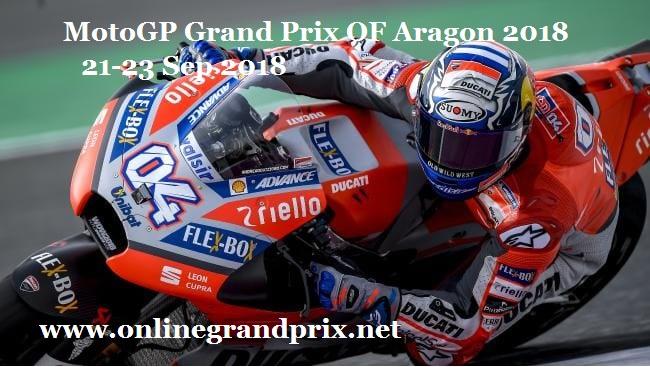 MotoGP Aragon Grand Prix 2018 Live Online