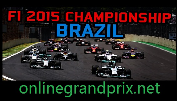 Watch F1 Grand Prix Of Brazil 2015 Live