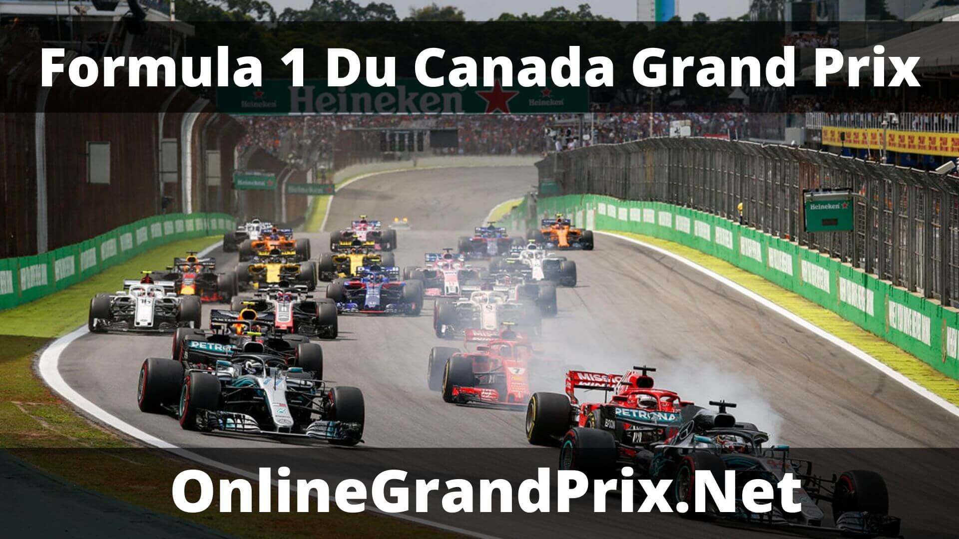 F1 Du Canada GP Live Stream 2020 | F1 Race Replay