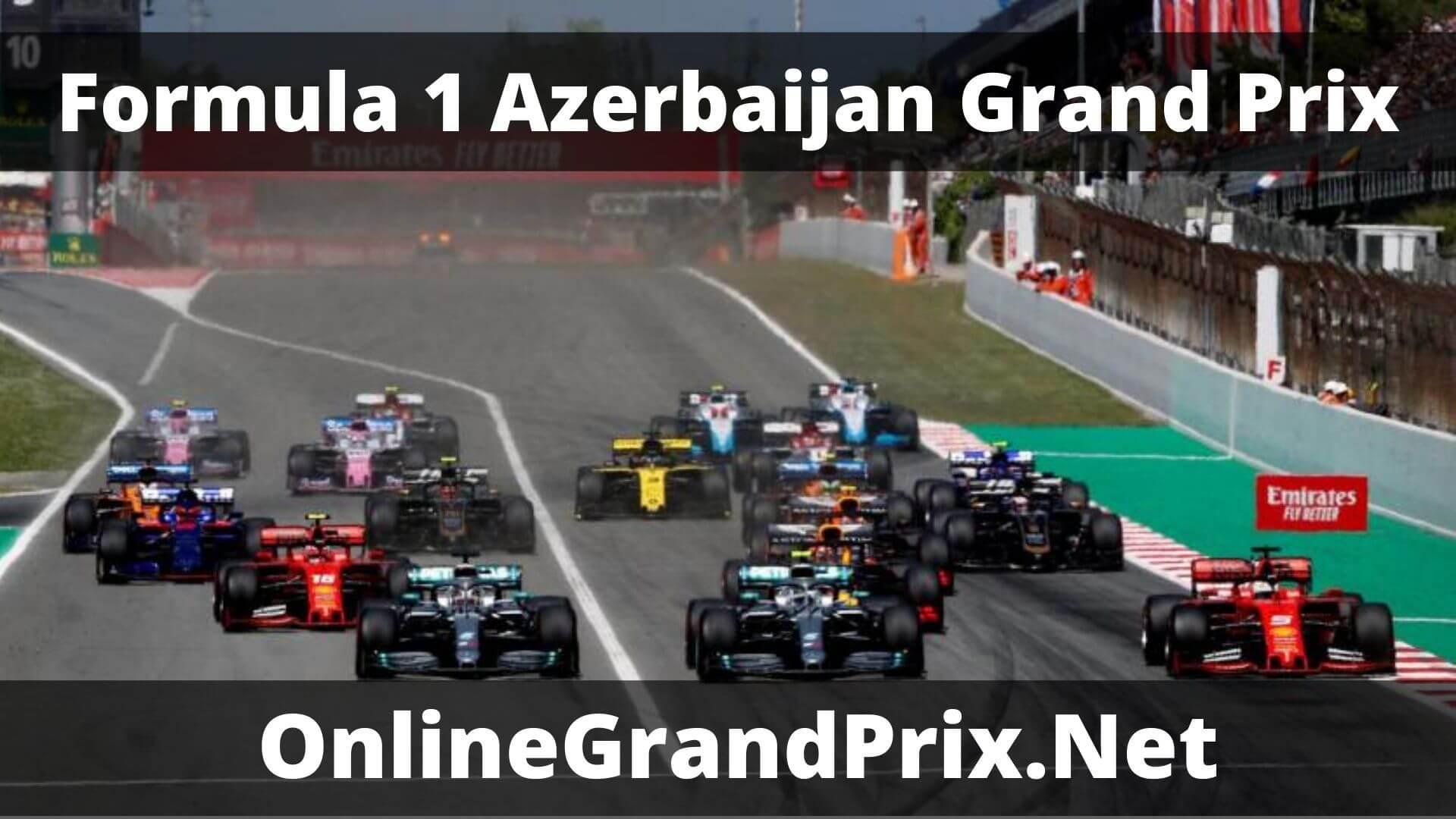 F1 Practice 2 Azerbaijan GP Live Stream 2020