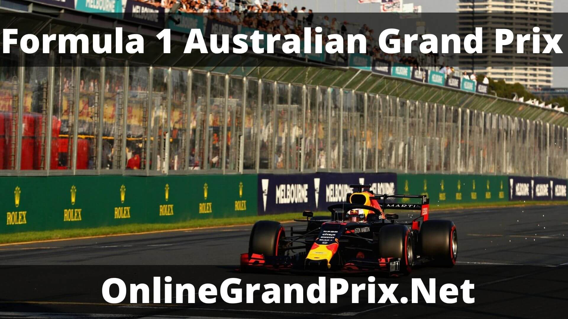 F1 Qualifying Australian GP Live Stream 2020