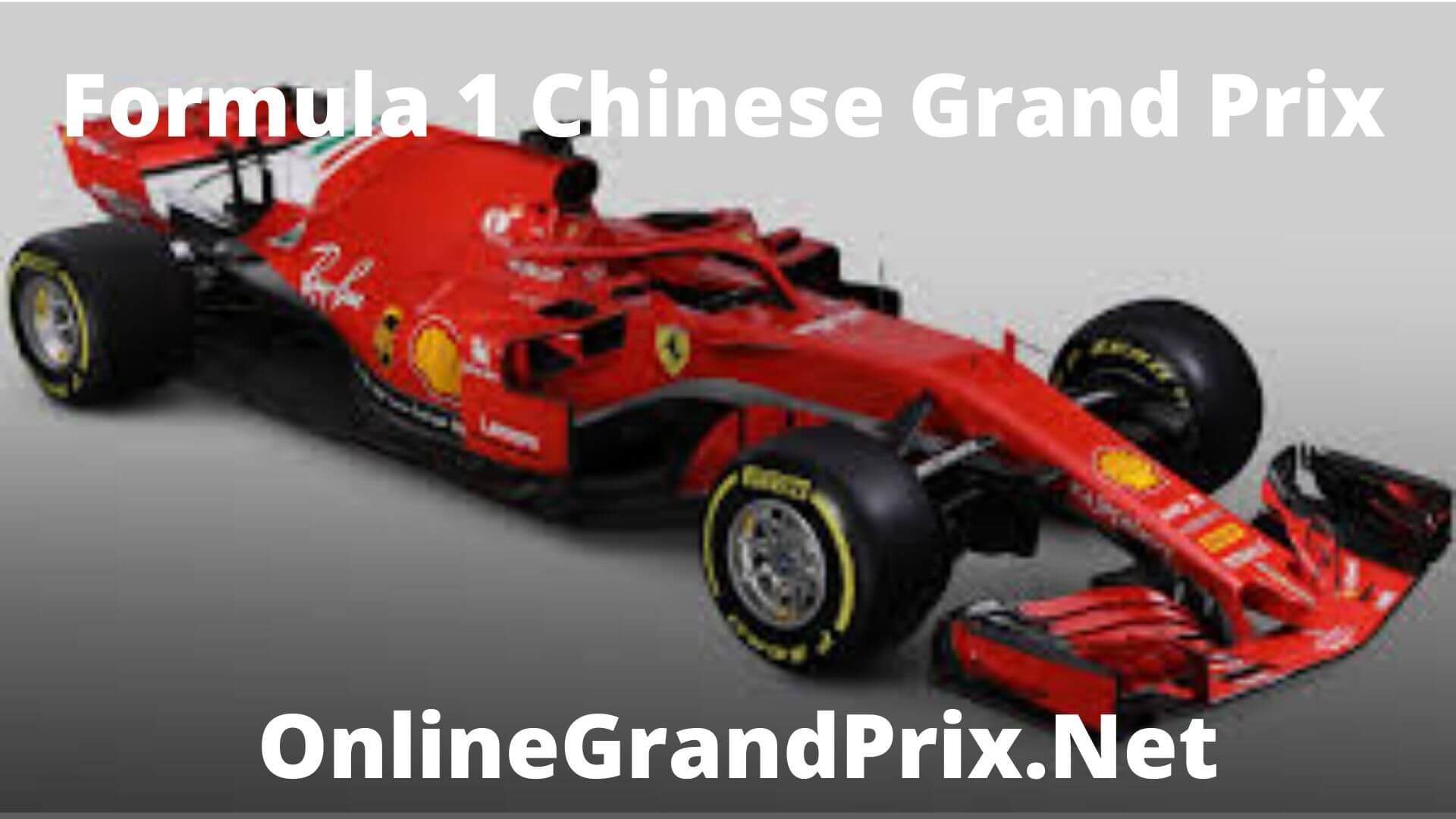 F1 Qualifying Chinese GP Live Stream 2020