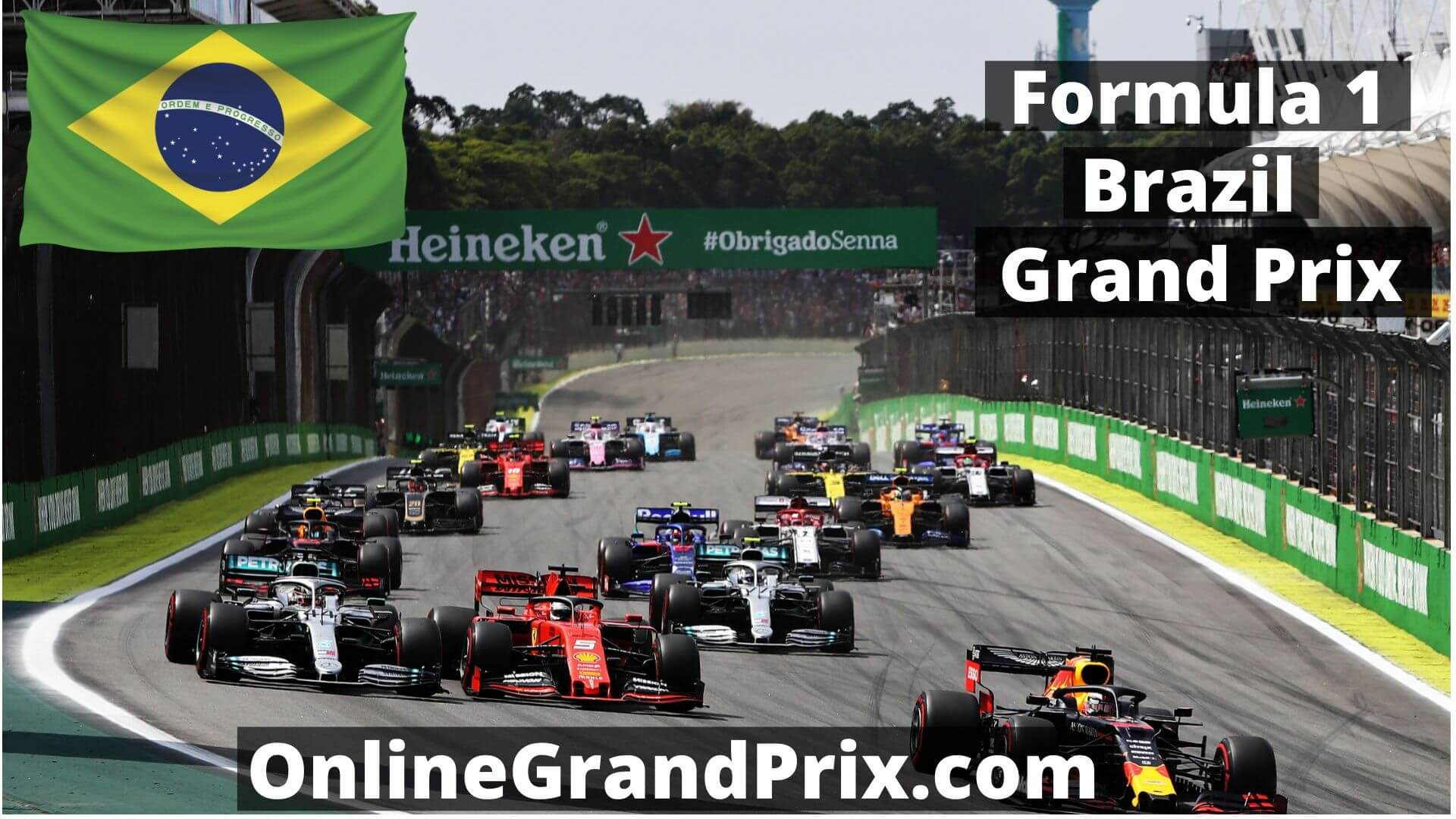 F1 Qualifying Brazil GP Live Stream 2020