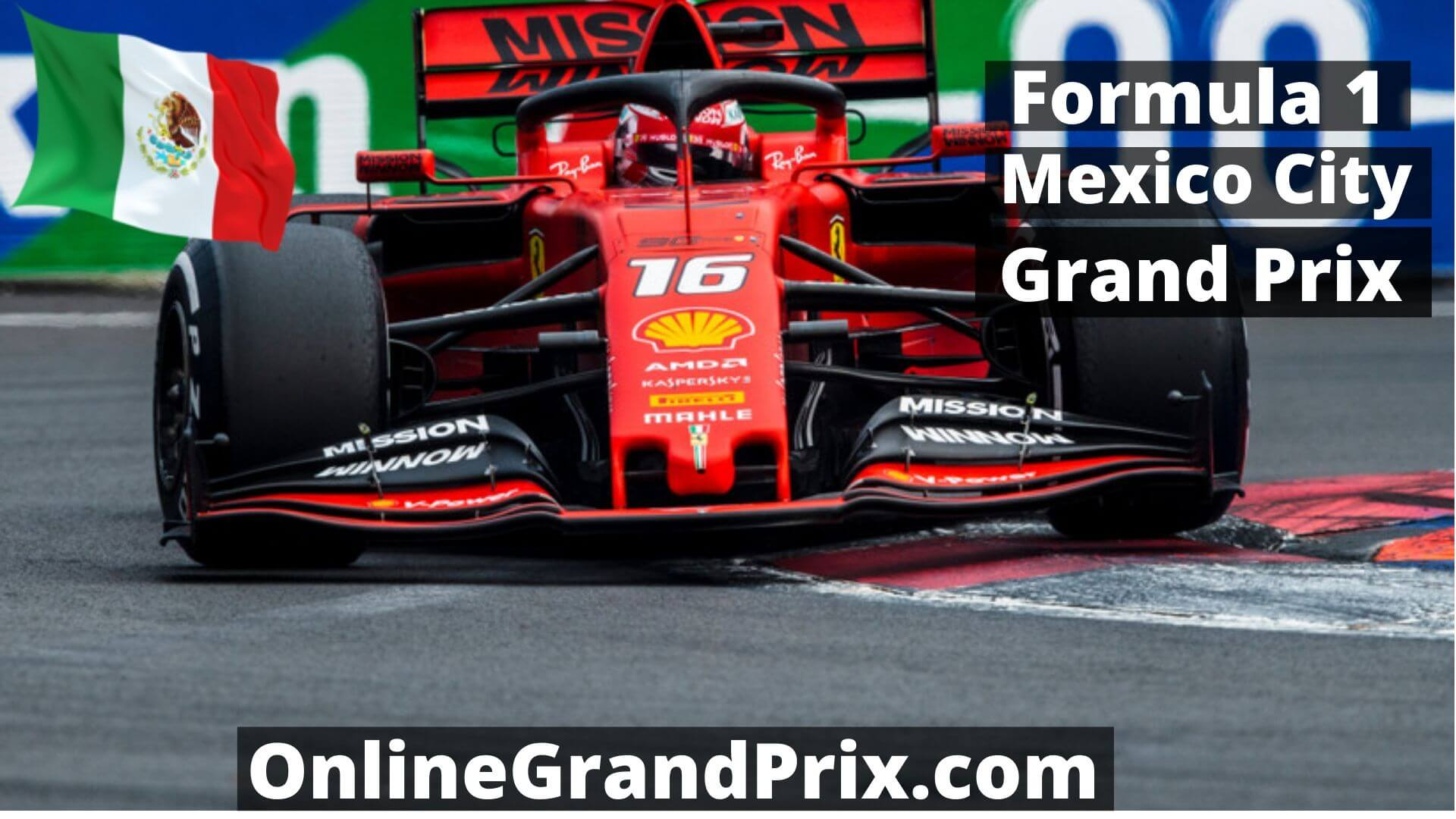 F1 Qualifying Mexico City GP Live Stream 2020