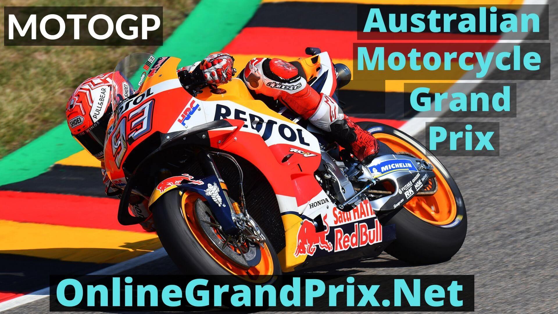Australian Motorcycle Grand Prix Live Stream 2020 | MotoGP