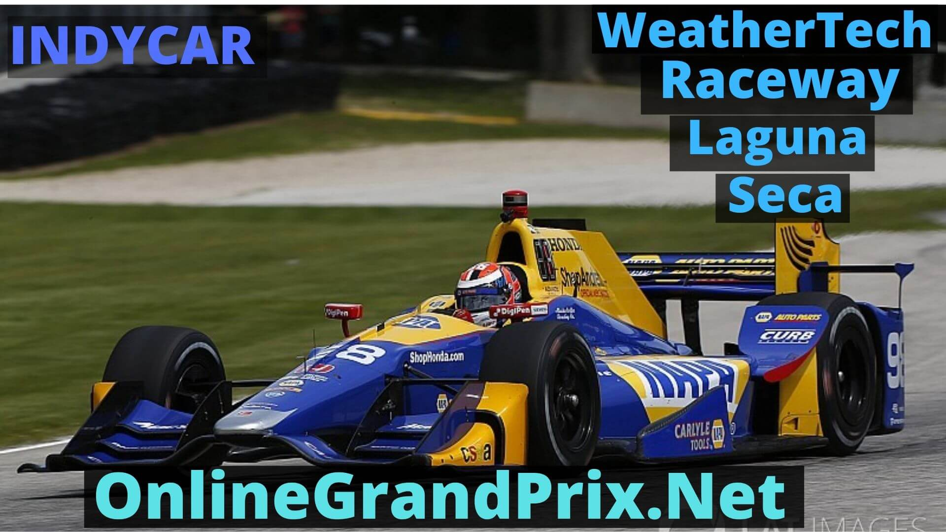 Firestone GP of Monterey Live Stream 2020 | Indycar