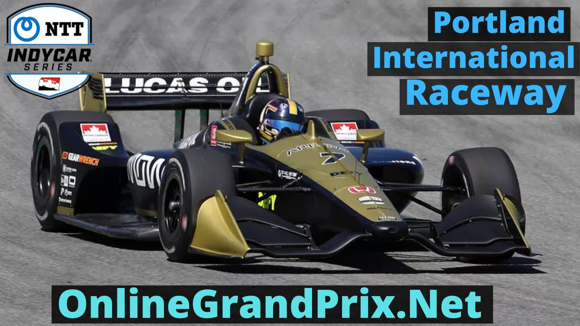 GP of Portland Live Stream 2020 | Indycar