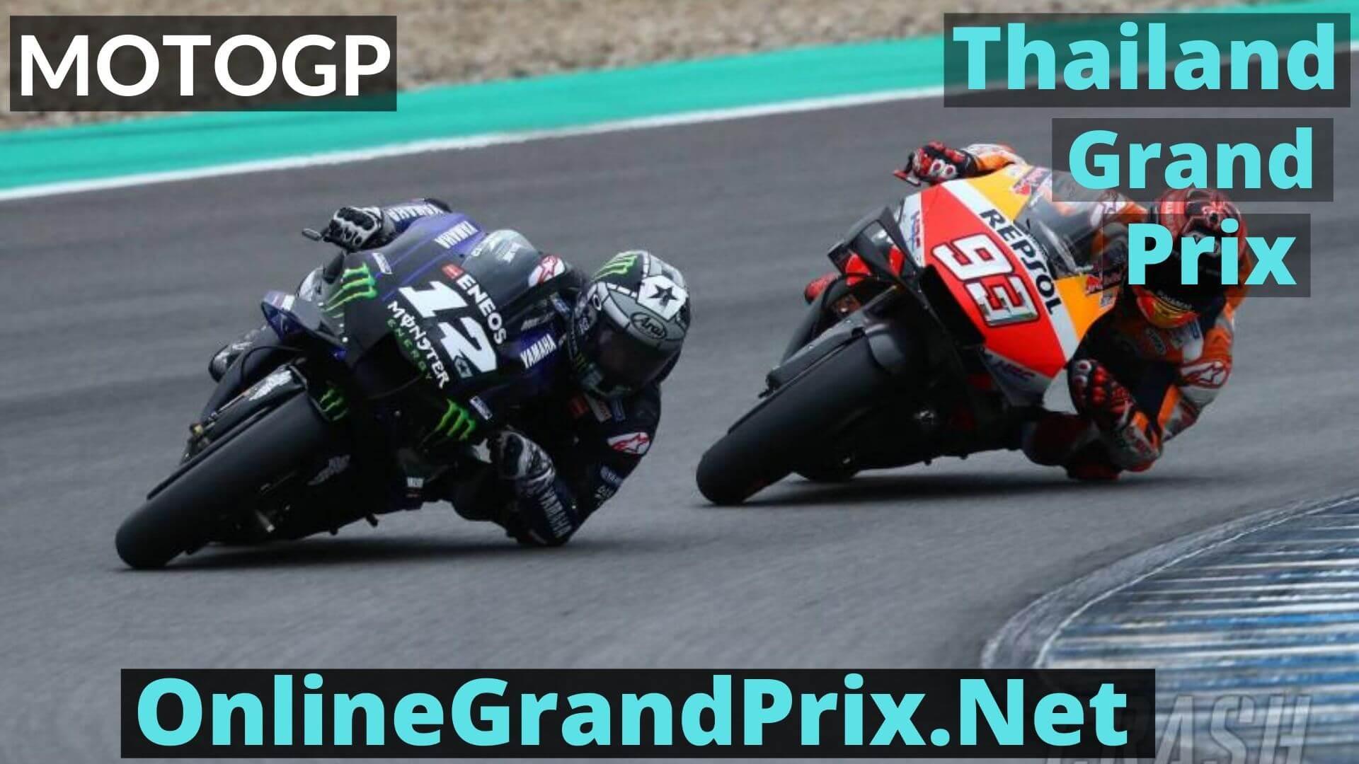 Thailand Grand Prix Live Stream 2020 | MotoGP
