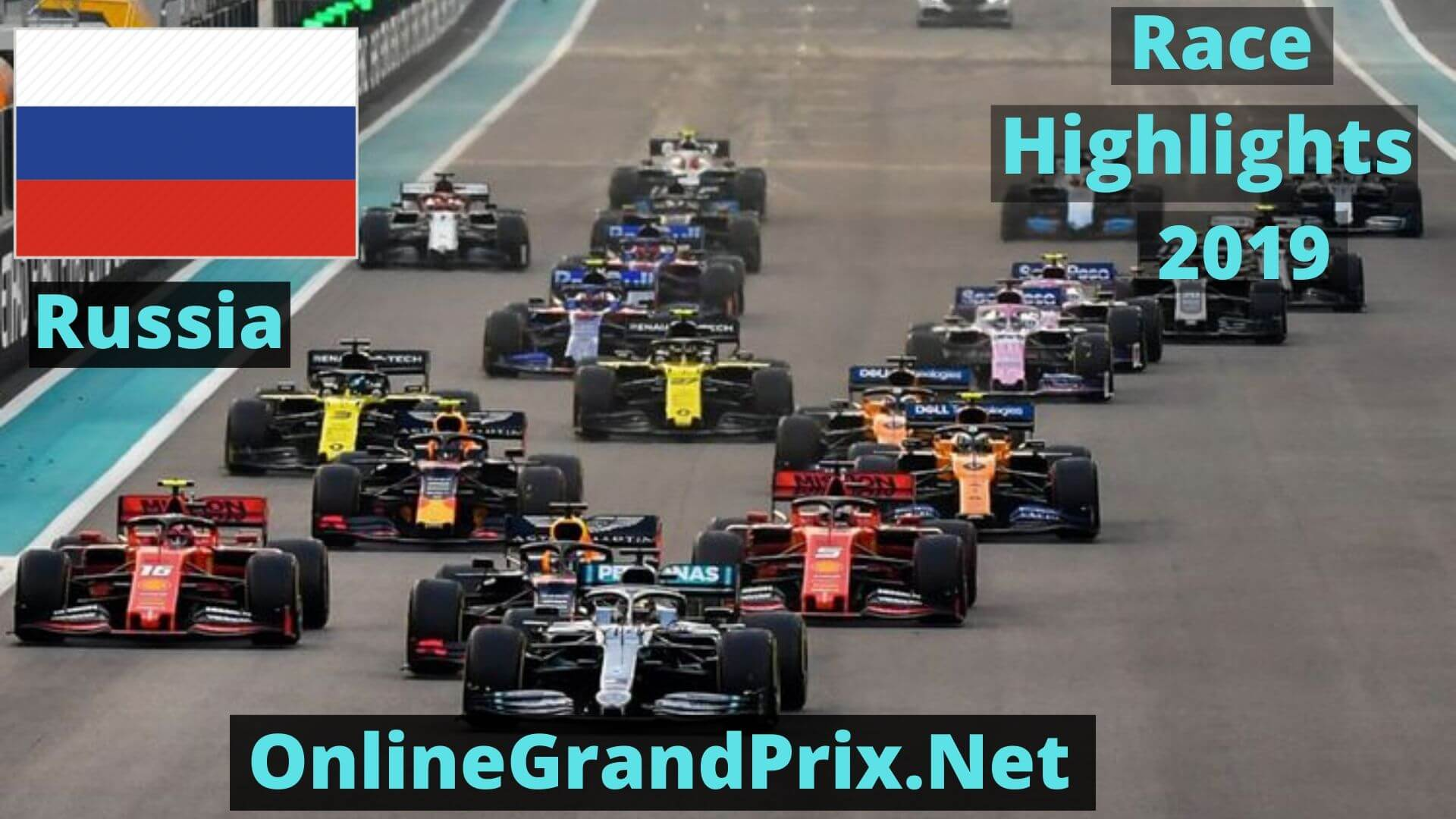 Formula 1 Russia GP Race Highlights 2019 Race Replay