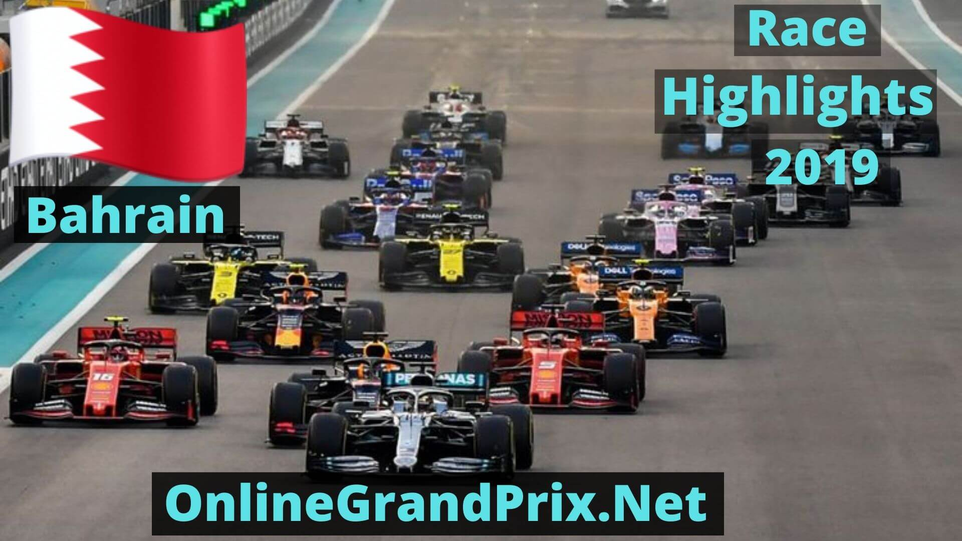 Formula 1 Bahrain GP Race Highlights 2019 Race Replay