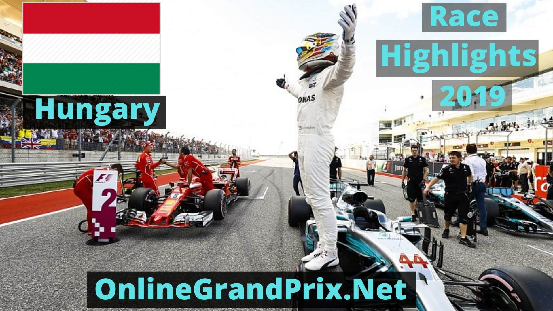 Formula 1 Hungary GP Race Highlights 2019 Race Replay