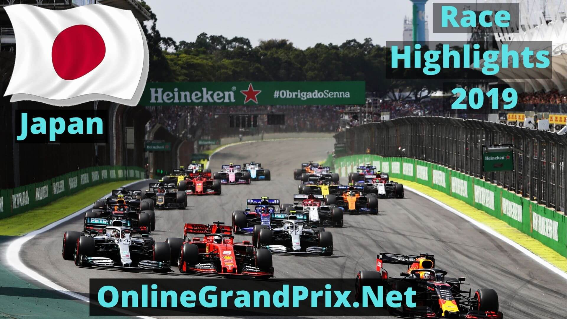 Formula 1 Japan GP Race Highlights 2019 Race Replay