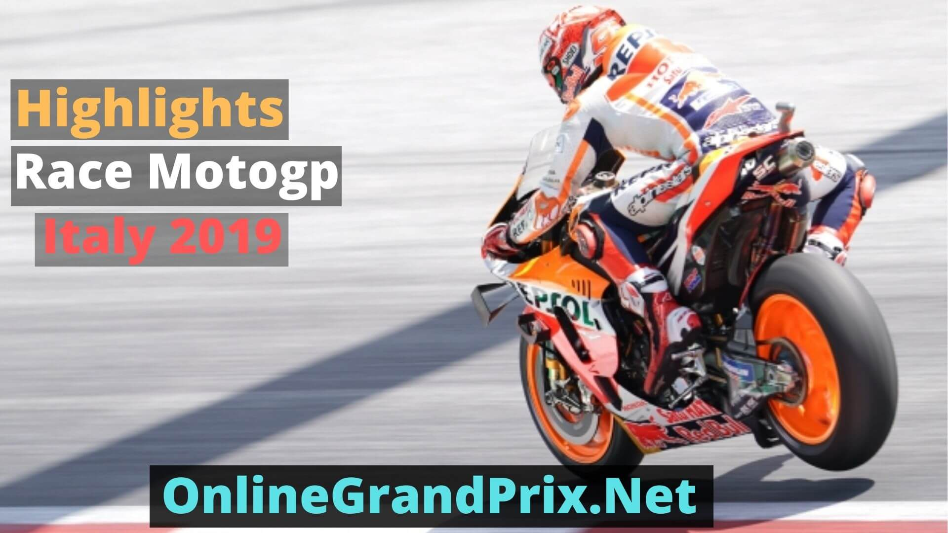 Italian MotoGP Highlights 2019