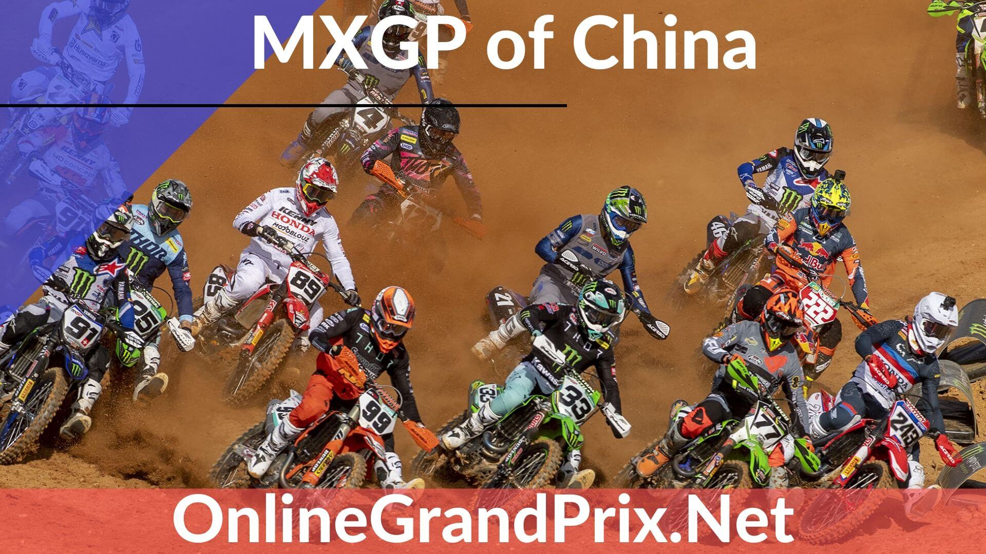 China MXGP Live Stream 2020 | FIM MotoCross WC