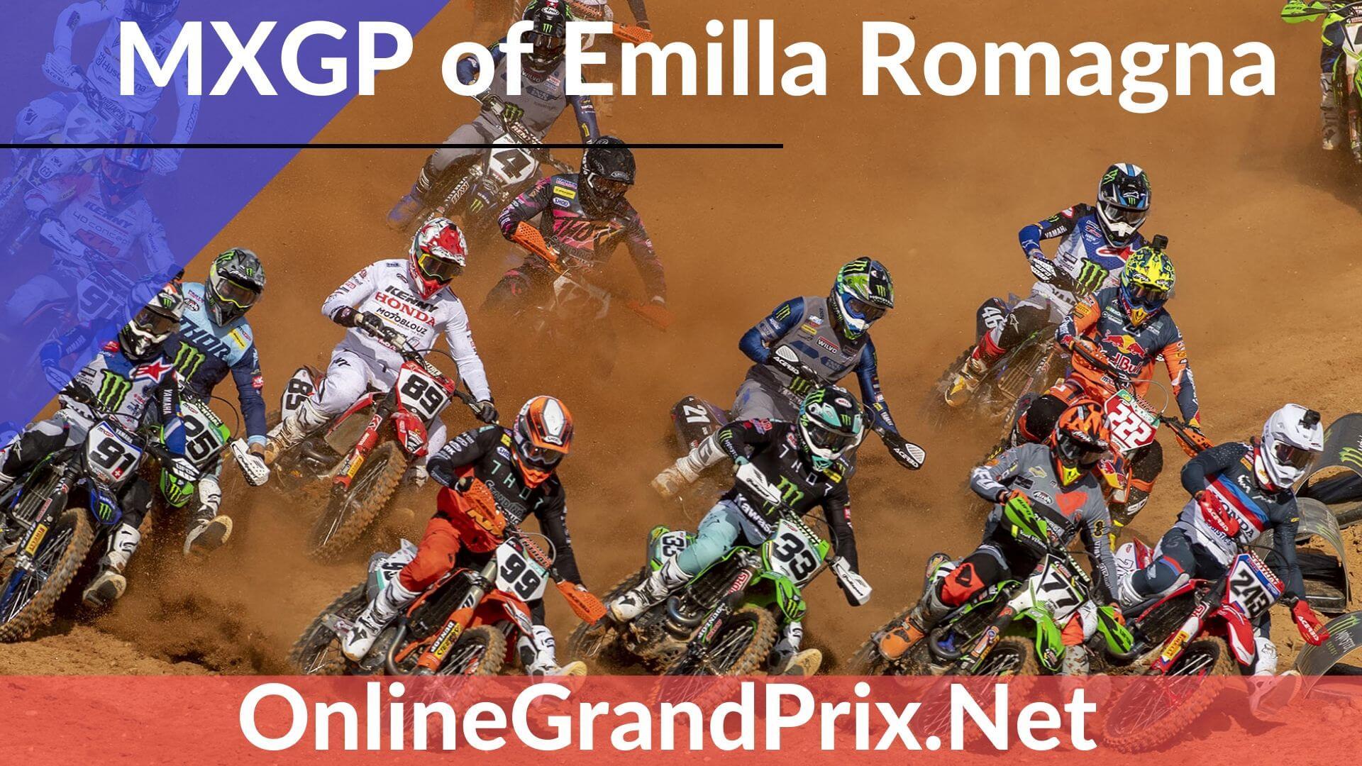Emilla Romagna MXGP Live Stream 2020 | FIM MotoCross WC
