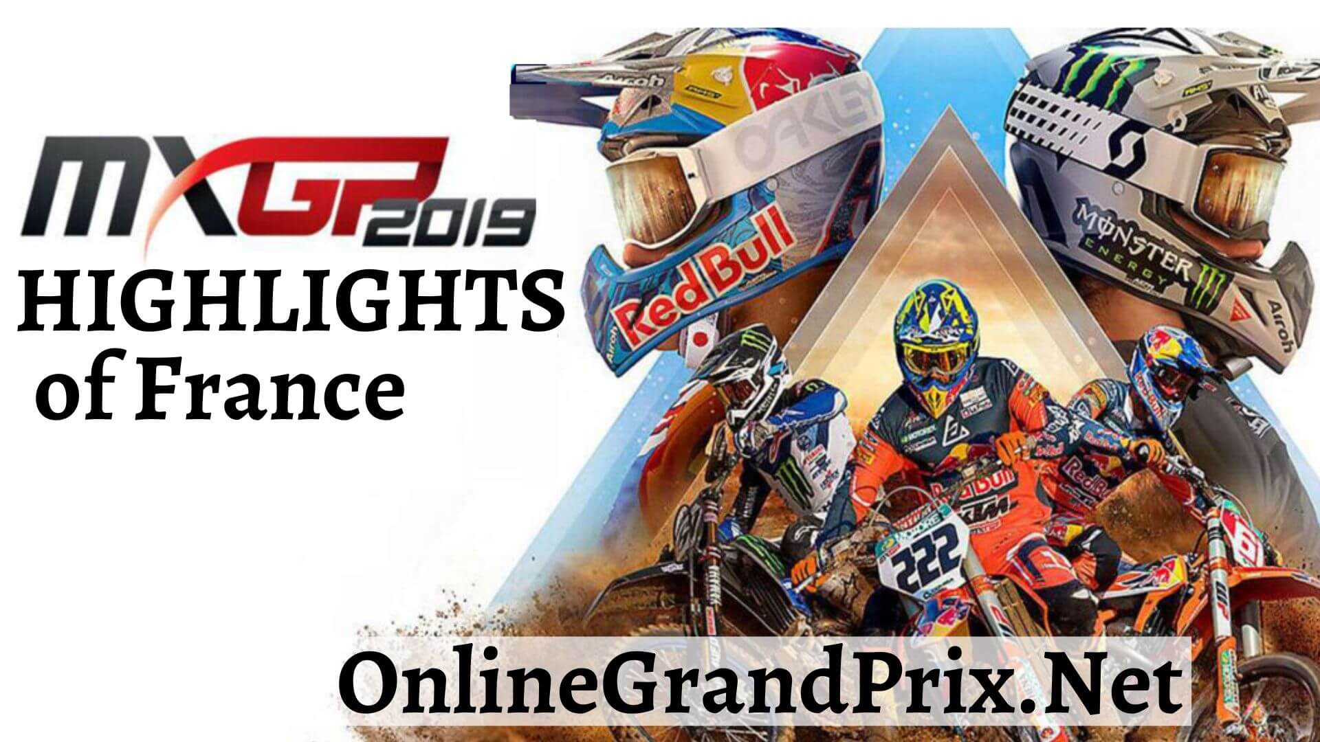 MXGP of France Highlights 2019