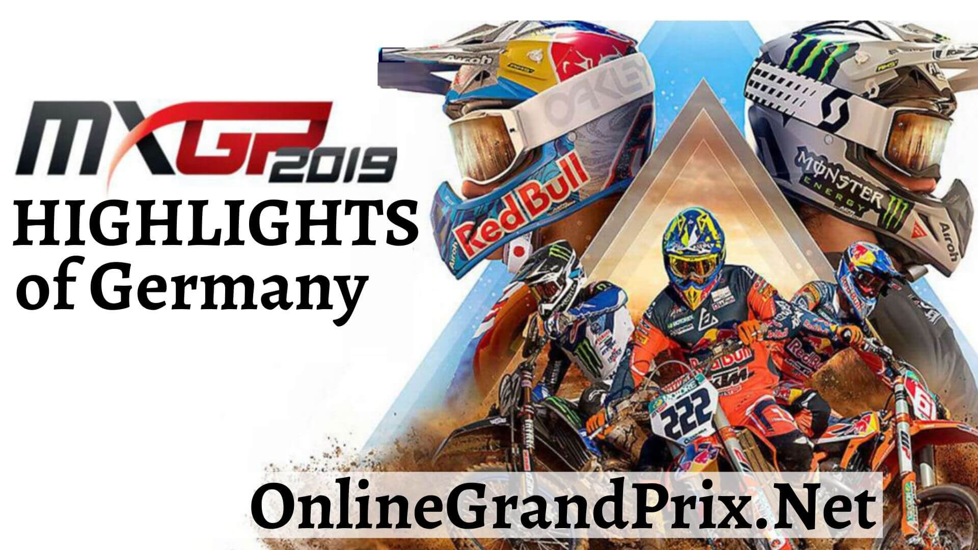 MXGP of Germany Highlights 2019
