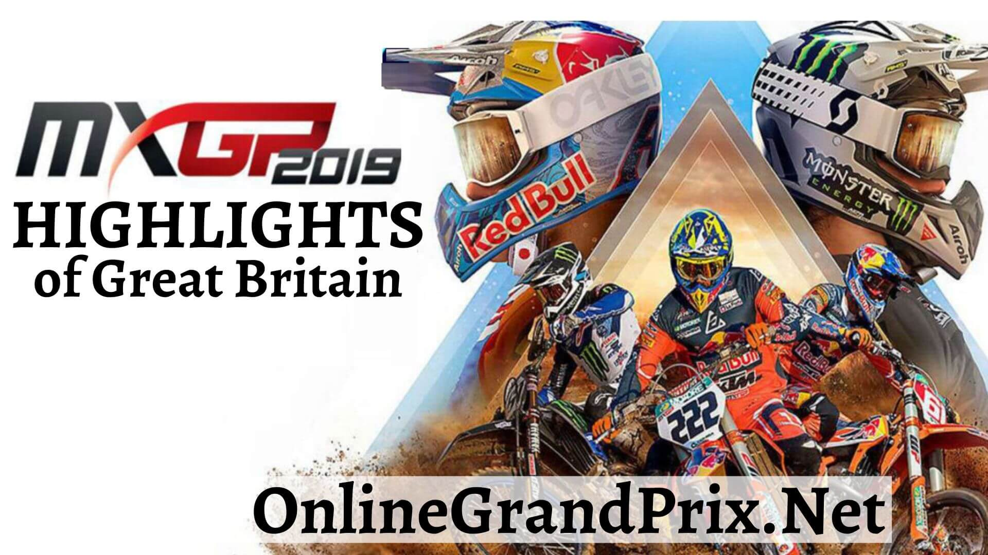 MXGP of Great Britain Highlights 2019
