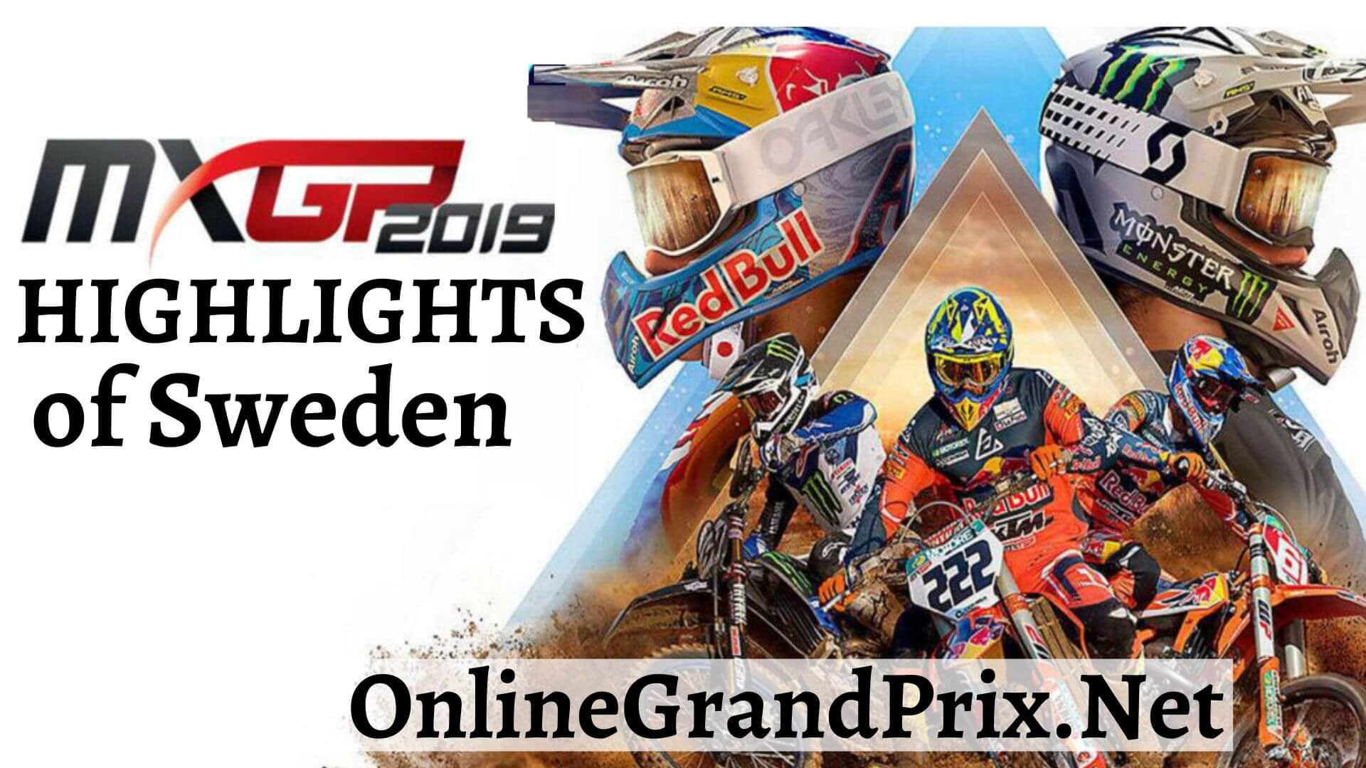 MXGP of Sweden Highlights 2019