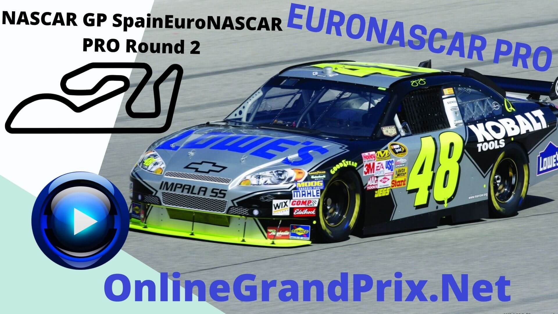 Spain NASCAR GP Live Stream | Euro NASCAR PRO Round 2