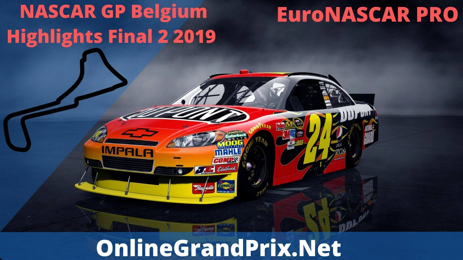 NASCAR GP Belgium Final 2 Highlights 2019
