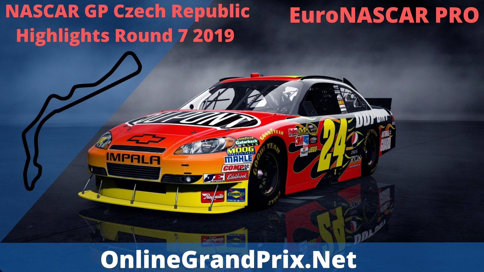 NASCAR GP Czech Republic Round 7 Highlights 2019