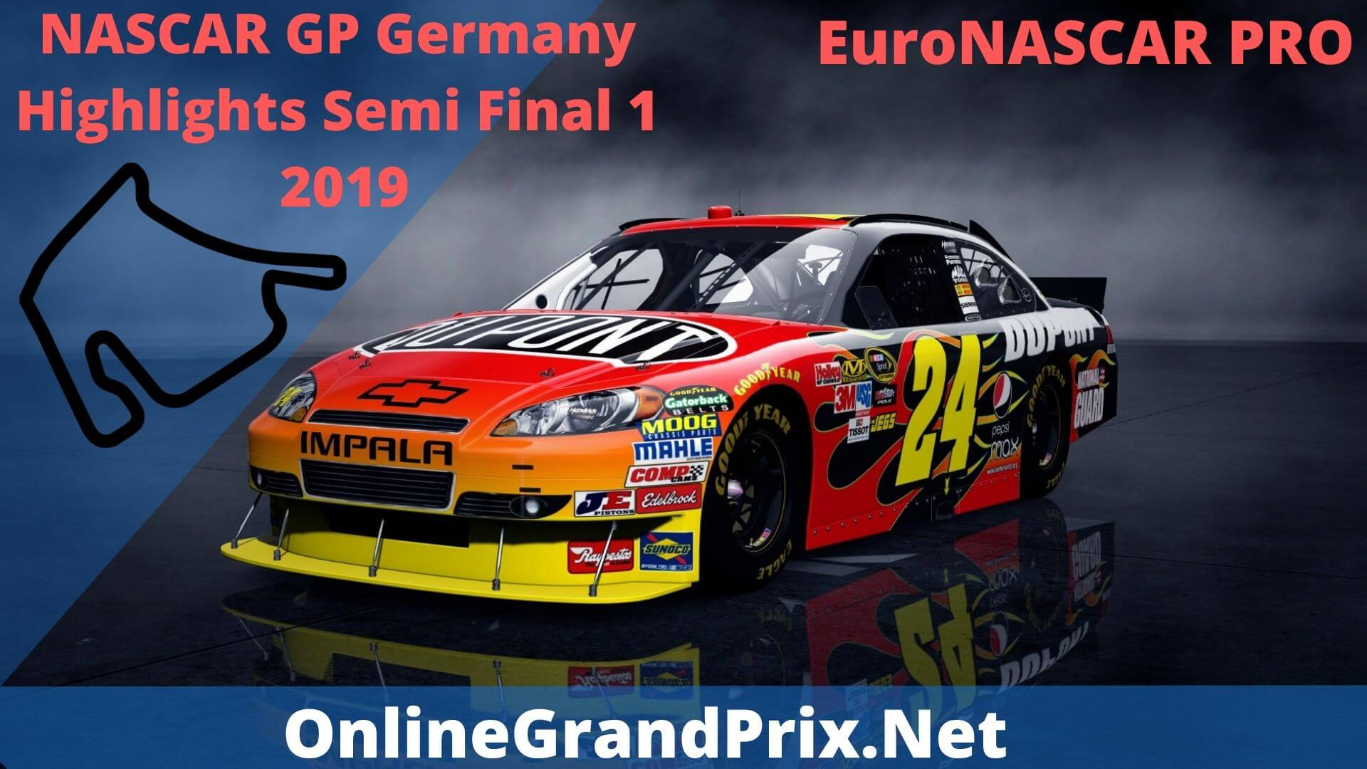 NASCAR GP Germany Semi Final 1 Highlights 2019