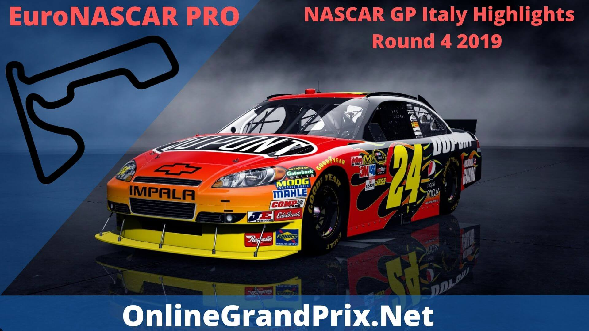 NASCAR GP Italy Round 4 Highlights 2019