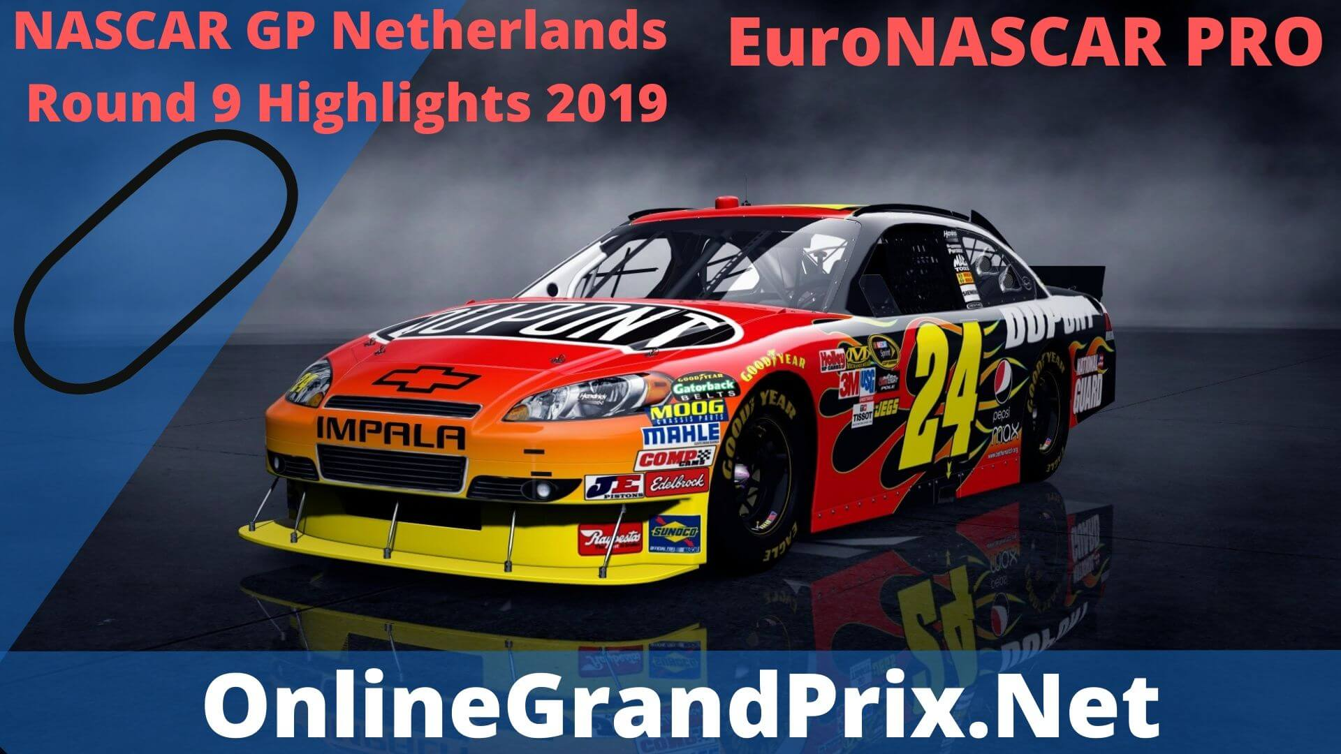 NASCAR GP Netherlands Round 9 Highlights 2019