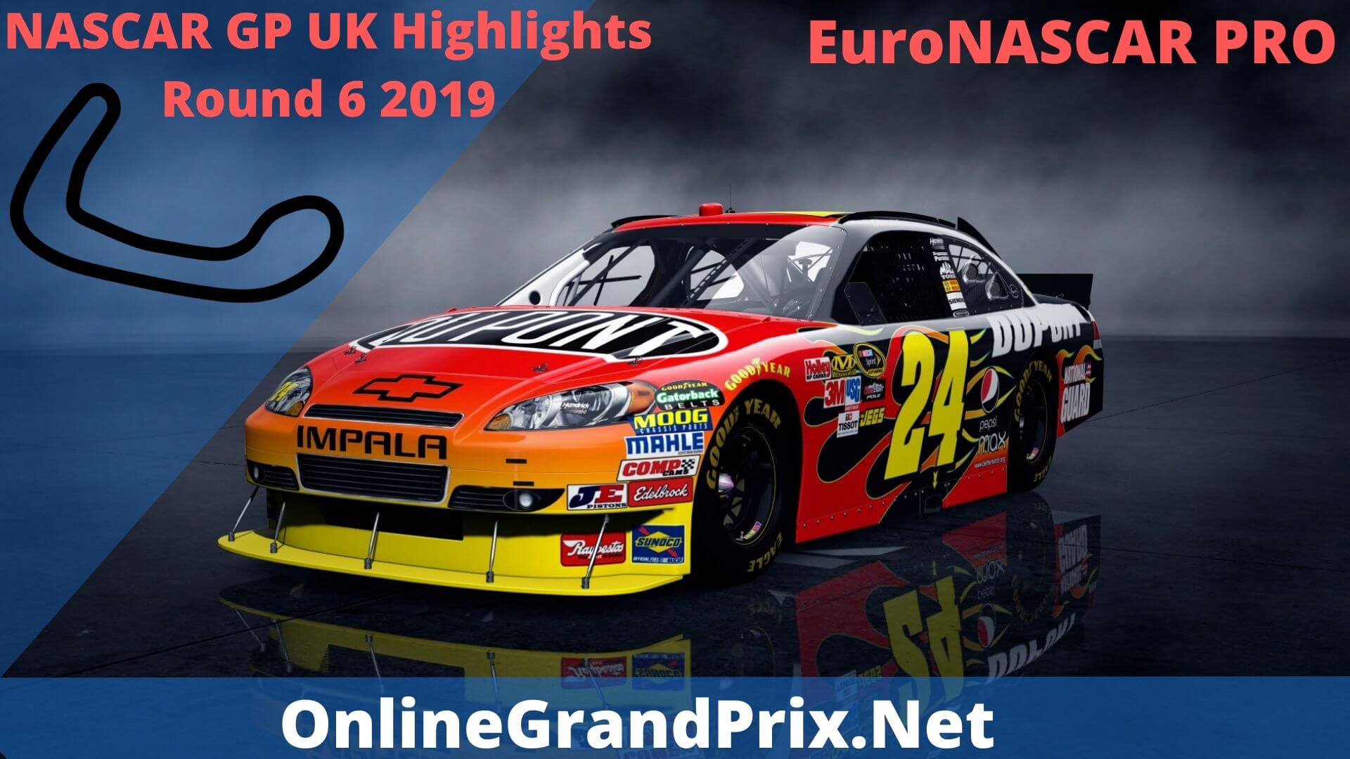 NASCAR GP UK Round 6 Highlights 2019