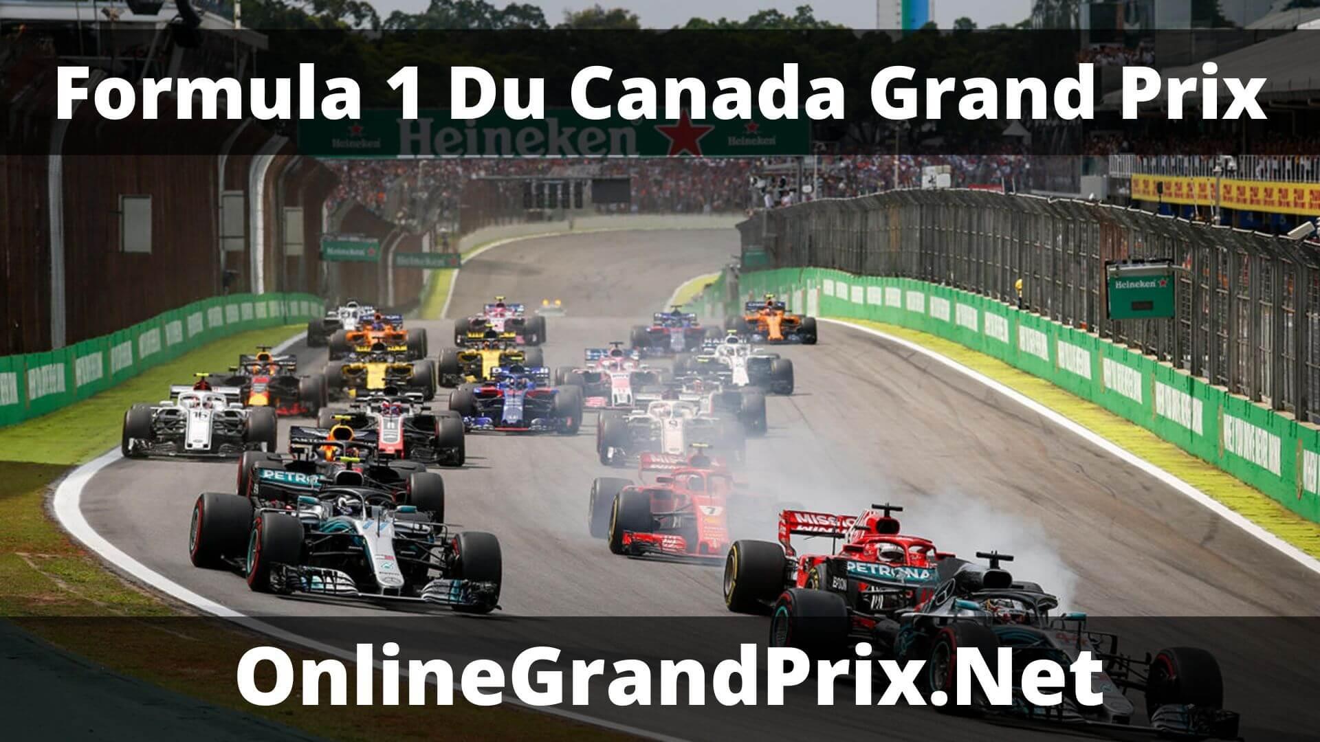F1 Practice 1 Du Canada GP Live Stream 2020