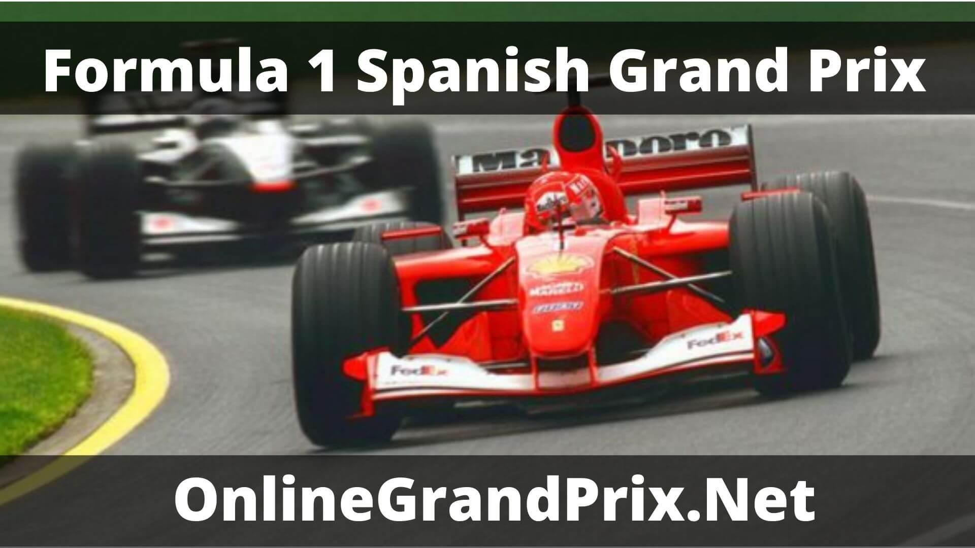 F1 Practice 1 Spanish GP Live Stream 2020