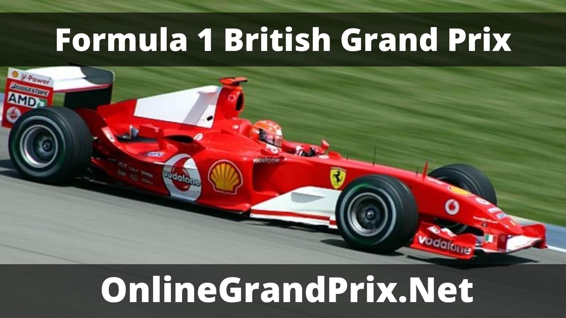 F1 Practice 1 British GP Live Stream 2020