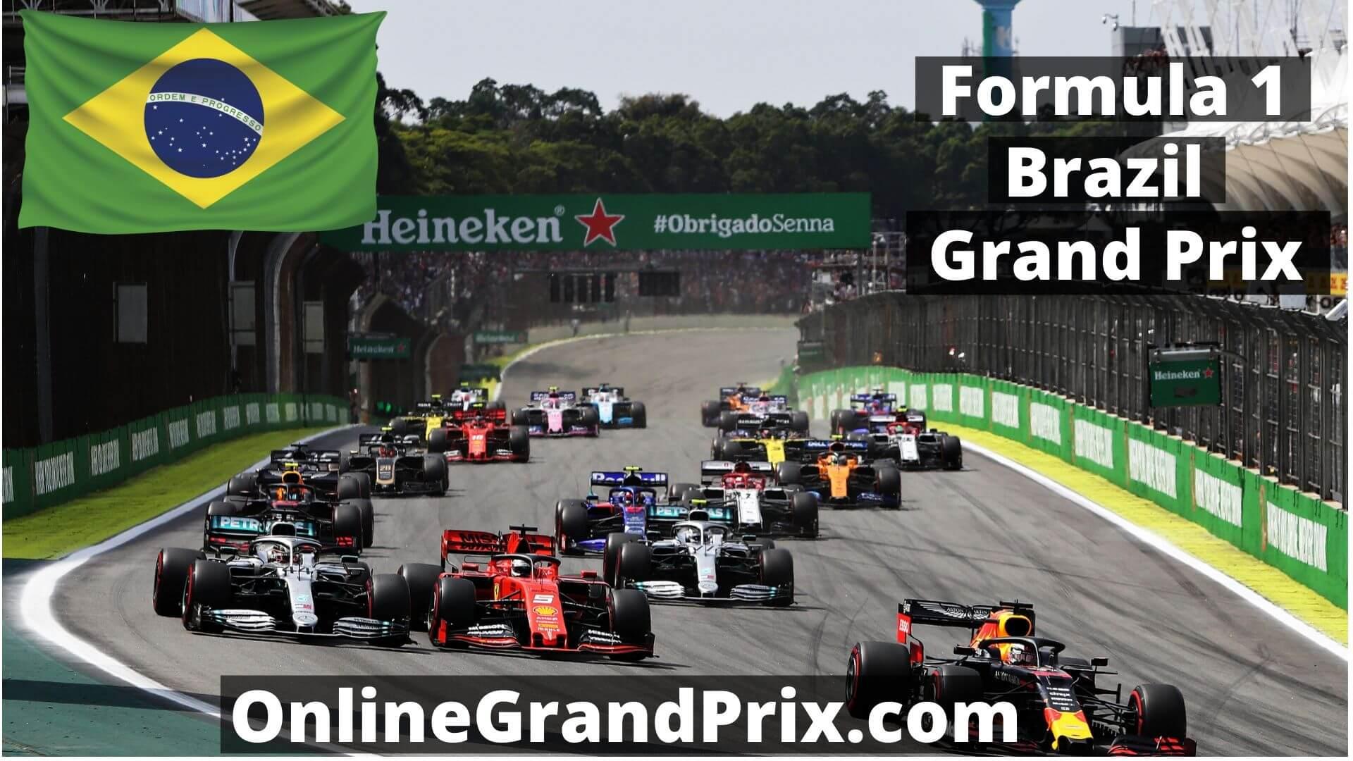F1 Practice 1 Brazil GP Live Stream 2020