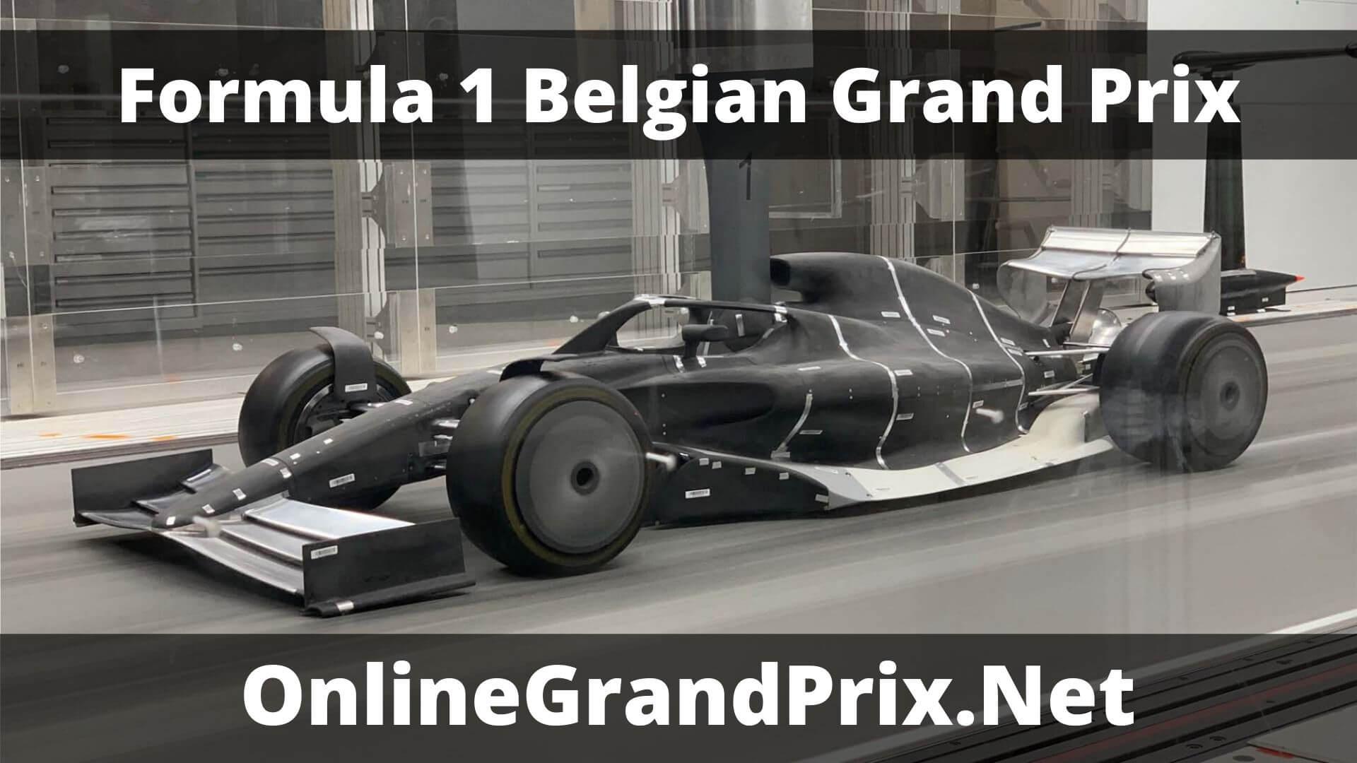 F1 Practice 1 Belgian GP Live Stream 2020