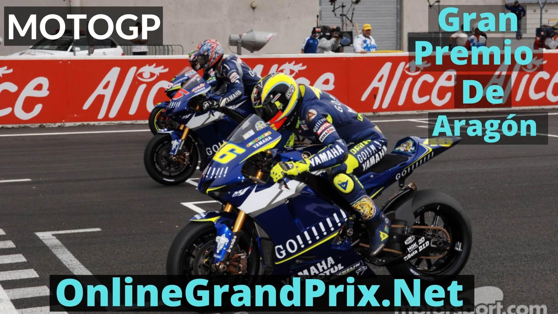 Gran Premio de Aragon Live Stream 2020 | MotoGP