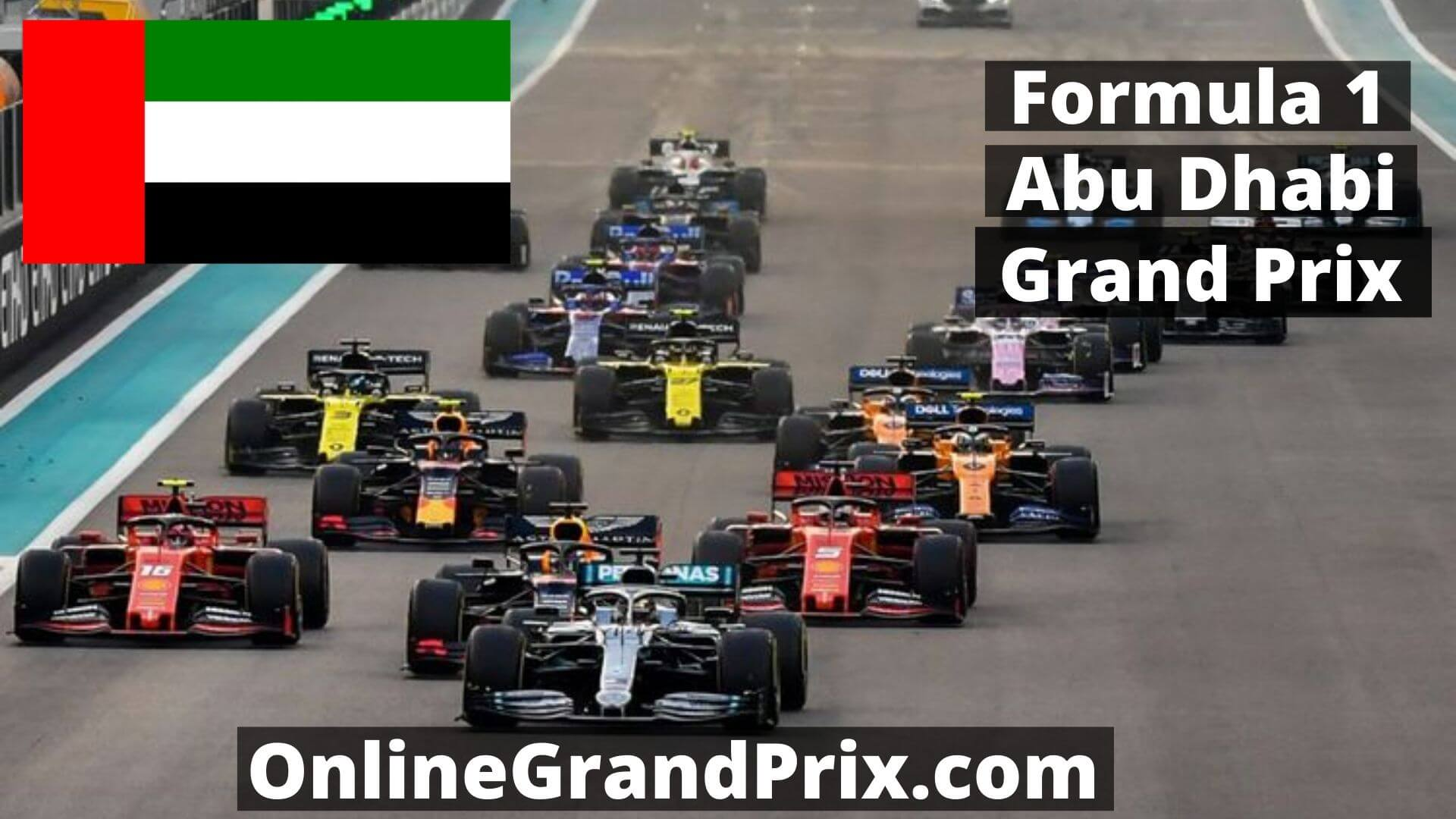 F1 Practice 1 Abu Dhabi GP Live Stream 2020